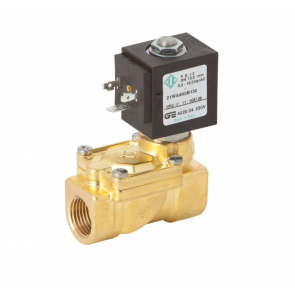 Solenoid 2-Way Normally Closed Brass