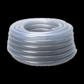 Tube Heliflex Group 27 Transparent White - Steel Mesh