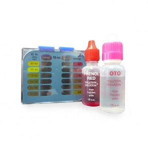 Chlorine, Total Bromine and pH Analysis Kit