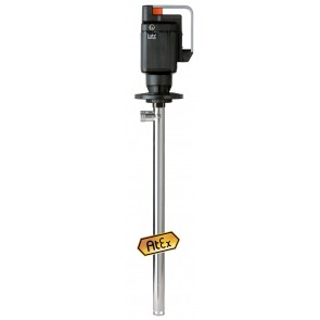 Racking Pump Fluid Lutz Inflammable, Stainless Steel Aisi316, Motor Me Ii-3 Ex
