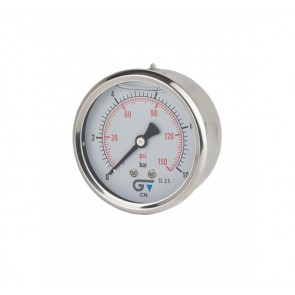 Gauge With Glycerin