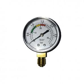 Manometer 0-6 Kg / Cm2 Glycerin Bath Inox