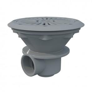 Round Drain Grey Liner Astralpool