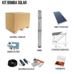 Kit Solar Pumps Hole Waterbox
