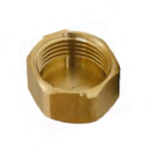 Cap Brass Female